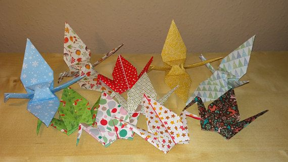 Christmas crane origami christmas christmas origami origami