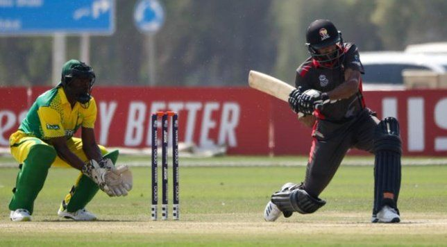 2020 T20 World Cup Qualifier Uae Register Big Win Over Nigeria To Keep Their Hopes Alive World Cup Qualifiers World Cup Meet The Team