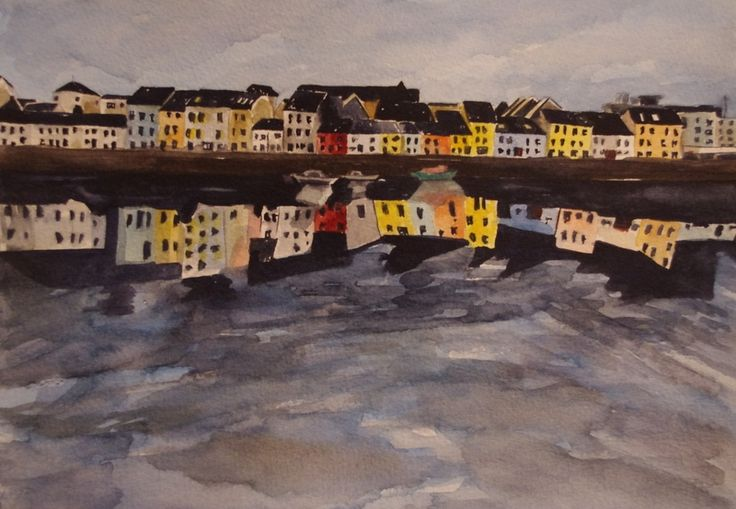 'The Long Walk - A Clear Day' by Fiona Concannon on ArtClick.ie