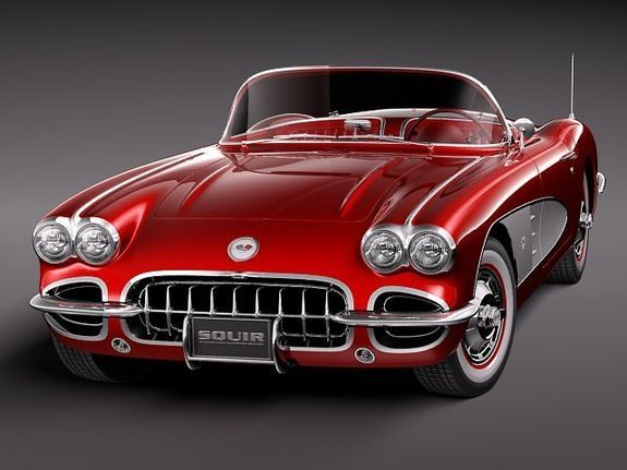 '58 chevrolet corvette…. the best car ever…