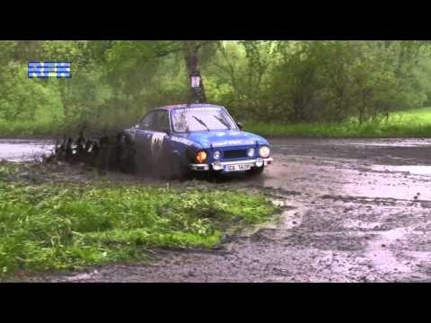 ▶ Mazuch - Kováč Škoda 110R, Podbrdská rallye Legend 2013 - YouTube