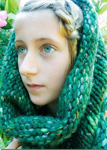Transitional Pieces. Cowls by SoTwisticated. Military Green, cowl.