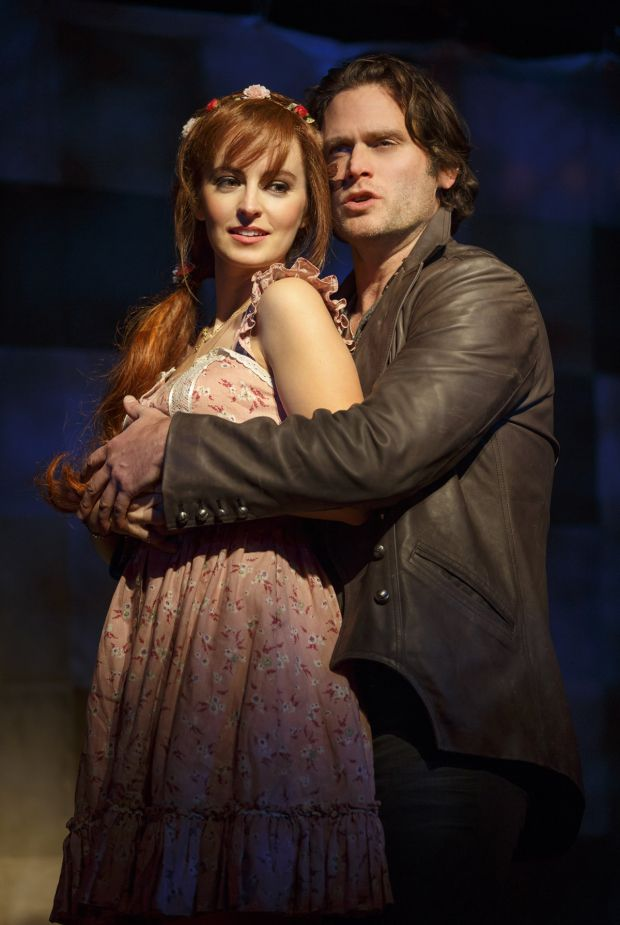 Ahna O'Reilly and Steven Pasquale take on leading roles in Roundabout Theatre Company's revival of The Robber Bridegroom.