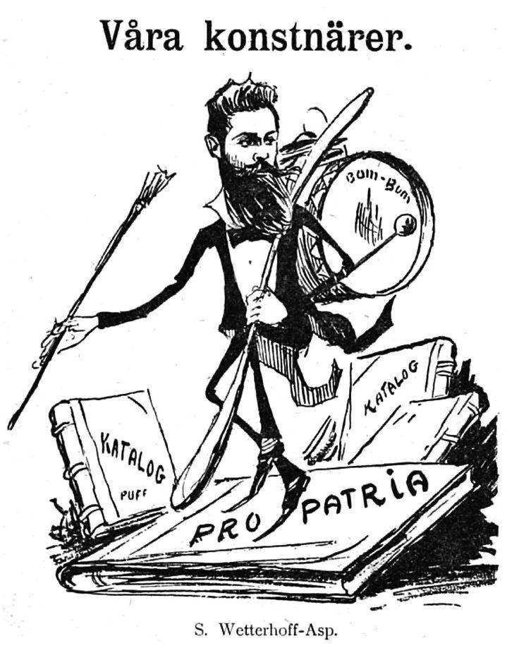 Wettenhovi-Aspa (Wetterhoff-Asp) Fyren magazine 10.5.1902.
