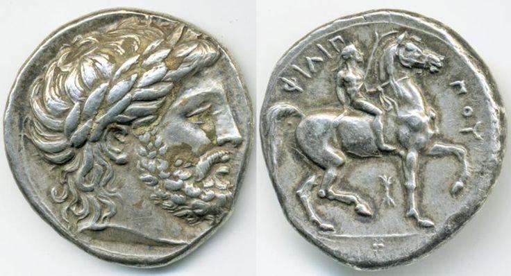 Philip II, Macedon 359-336 BC Silver tetradrachm
