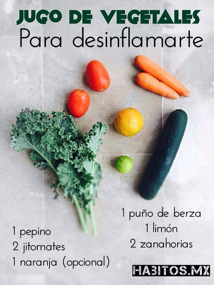 Hábitos Health Coaching | Jugo de Vegetales -PARA DESINFLAMARTE-