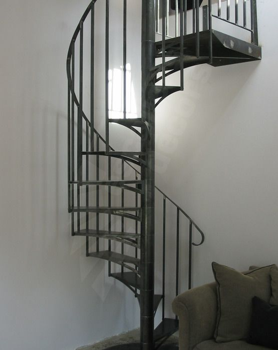 S21 spir 39 d co kit 1 230 m escalier m tal d 39 int rieur h lico dal - Escalier moderne metal ...