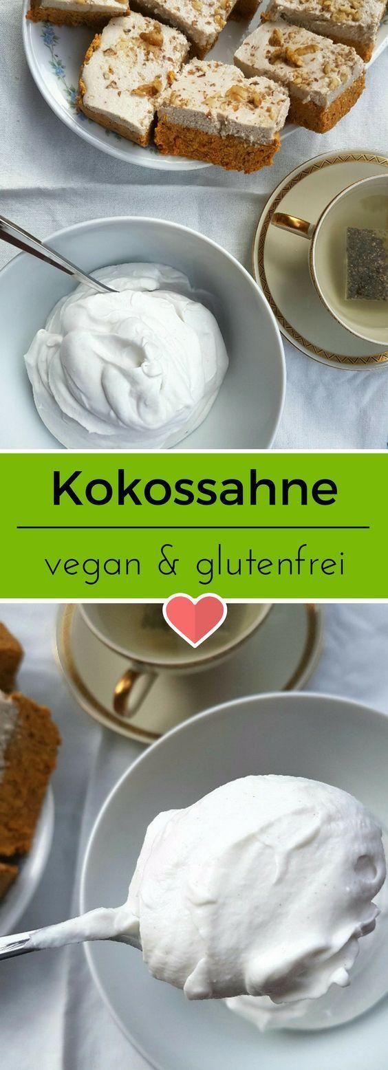 Fluffig, luftig und einfach lecker. Kokossahne ist schnell gemacht   Entdeckt von Vegalife Rocks:  www.vegaliferocks.de✨ I Fleischlos glücklich, fit & Gesund✨ I Follow me for more inspiration  @vegaliferocks