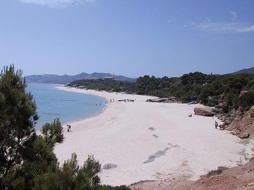 Spiaggia di Calaverde