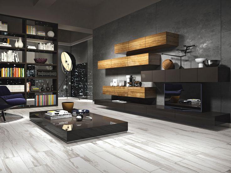 Porcelain tile floors wood effect Origini | Ceramica Rondine  #BellaTilesOG