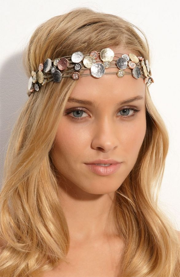 chic_headband | Headband hairstyles, Headbands for short hair, Headbands