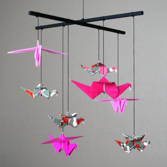 Grue mobile de papier sur pinterest mobiles d origami origami et - Les 60 Meilleures Images 224 Propos De Origami Animaux Sur