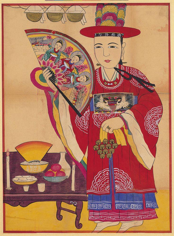 Folk Shaman Painting