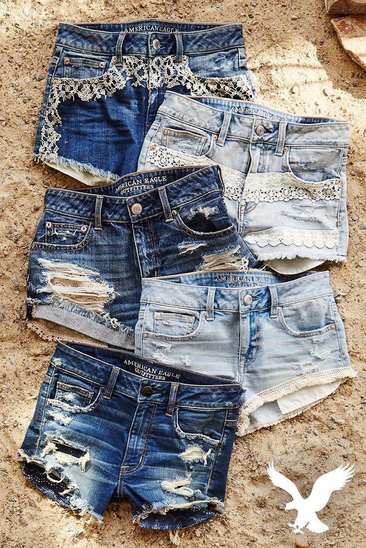 Tunic Shorts American Eagle