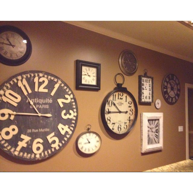 47 best I Love Clocks images on Pinterest Clock wall Metal