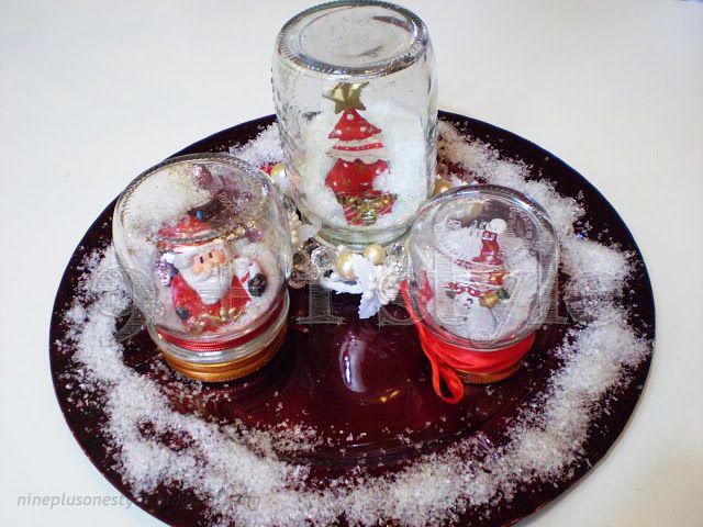 Snaw globes - palle di neve fai da te