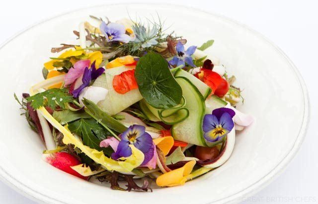Salad Shirazi - Greg Malouf  IN Great British Chefs