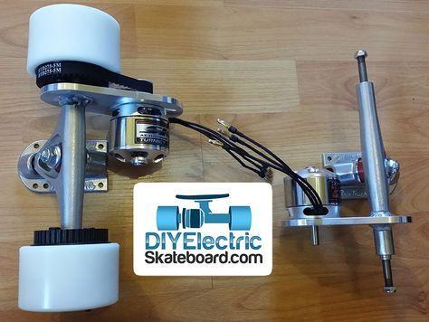 Dual Rear Motor Electric Longboard Kit ‹ DIY Electric Skateboard
