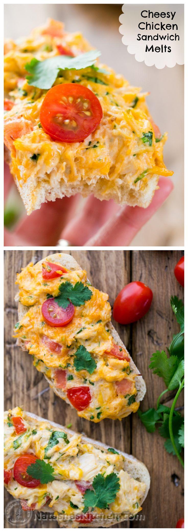 Easy Chicken Sandwich Melts