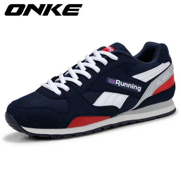 2016 Trend Baru Menjalankan Sepatu Mens Sneakers Bernapas Air Mesh Sepatu Eva Atletik Sapatos Wanita Sepatu Olahraga Runing Sepatu Pria