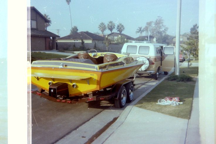 Our Manta Ray in the 80's. This was a fast boat with a 350 and a new Panther Jet! We used it at Lake Perris, Powell and Havasu all the time!