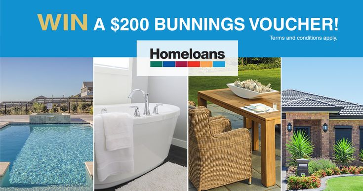 You could win a Dream Home upgrade with a $200 Bunnings Voucher by voting on which home upgrade you want the most. Vote on Facebook now!