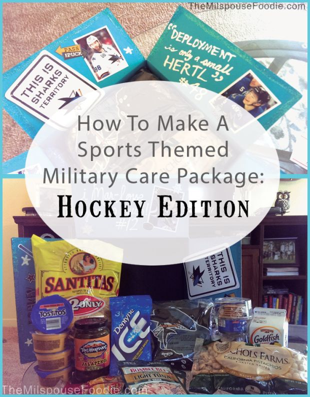 11 best deployment care packages images on pinterest deployment hockey themed military care package negle Image collections