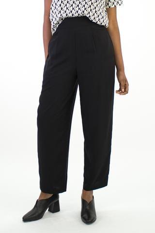 Black Leisure Pants