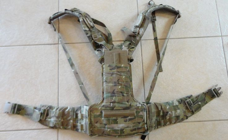 Mystery Ranch Recce harness/LBE in Multicam that was ...