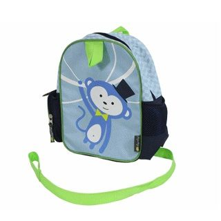 PRESHOOL HAPPENS TODDLER HARNESS & BACKPACK MONKEY - $23.95 - Preschool Happens Toddler Harness and Backpack is a 2-in-1 accessory that provides a way for kids to proudly take responsibility for their favorite toys, blankets or books, while you feel safer knowing your child is always within an arm's reach. #sweetcreations #kids #toddler #boys #school #kindy #itzyritzy