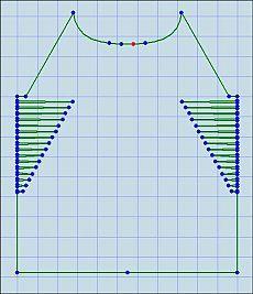 Реглан с однофазными вытачками (небольшой МК от Эстер - ester_n)