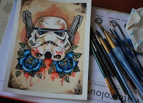 Old School Trooper