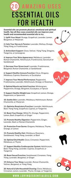 Essential oils can promote physical, emotional and spiritual health. See all they ways essential oils can improve your health and recommended essential oils to try. #essentialoiluses #healthyliving #lovingessentialoils
