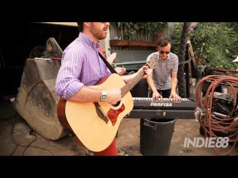 """Paper Lions perform their new single """"My Friend"""", live from Dias Iron Works welding shop in Liberty Village."""