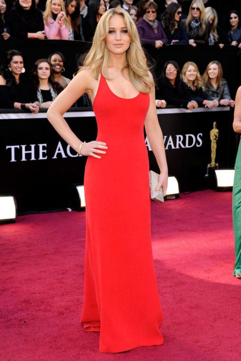 In Calvin Klein Collection at the 83rd Annual Academy Awards. See all of Jennifer Lawrence's best looks