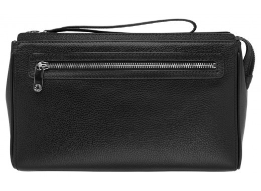 Discreetly luxurious, this durable and spacious wash bag will take your essentials around the world in style. Highly practical, designed with the busy men's lifestyle in mind.