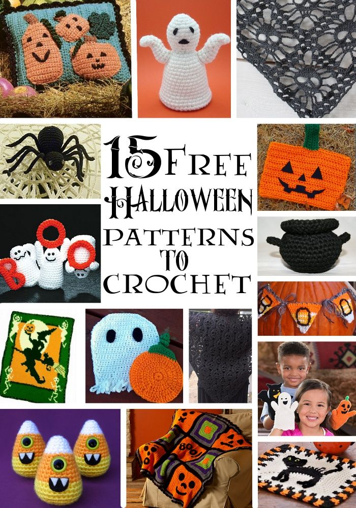 62 best crocheted easter halloween etc images on. Black Bedroom Furniture Sets. Home Design Ideas