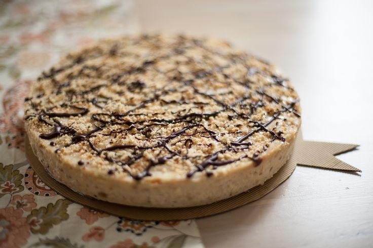 Sernik fistaszkowy / Peanut butter cheesecake http://bit.ly/peanutbutterser