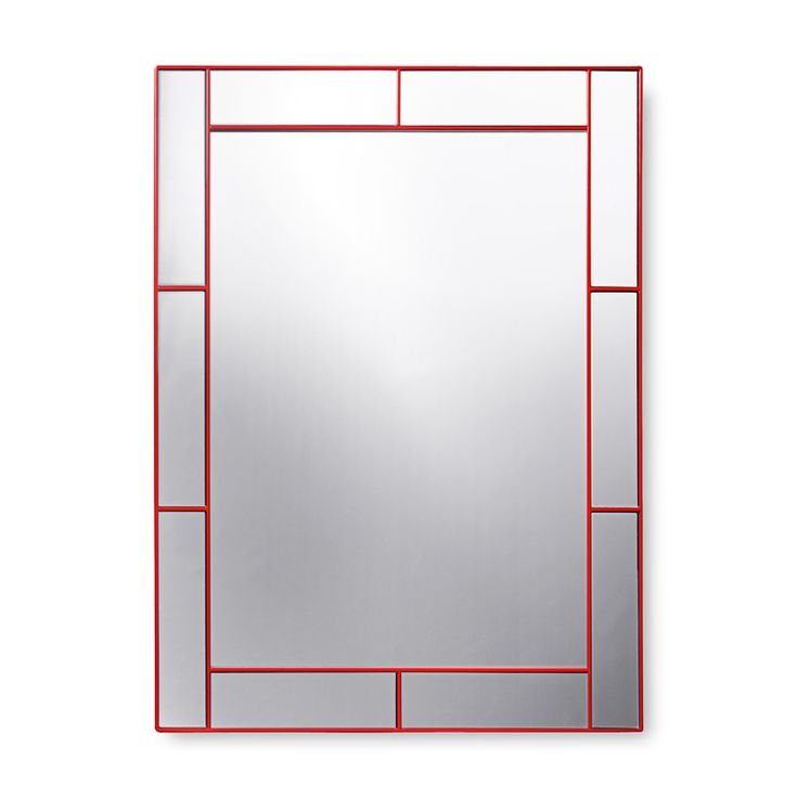 Mirror with Mirrorframe, by Josef Frank based on an Estrid Ericson idea. For Svenskt Tenn, 1980s.