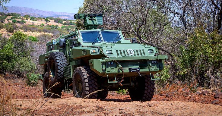 South Africa's Paramount Marauder Armored Vehicle| Military Machine