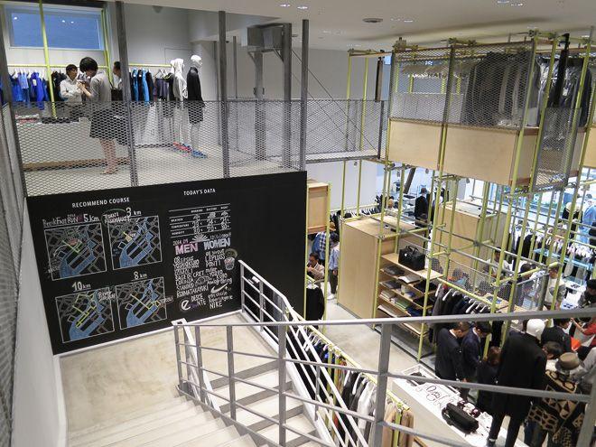 ユナイテッドアローズ新業態「アンルート」1号店公開 ファッション×スポーツで都会の生活を豊かに | Fashionsnap.com