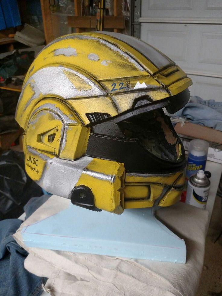 Halo 3 Odst Handmade Helmet Halo 3 Odst Halo 3 Halo
