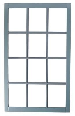 Window pane mirrors can be quite expensive if you purchase one ready-made, but you can utilize inexpensive mirrors from discount or dollar stores to build your own for much less. A grid of small wall mirrors attached together allows the frames to become the muntin bars that surround each pane. No power tools or special construction skills are necessary, and aside from the mirrors, most of the supplies needed for this project are already in your toolbox.