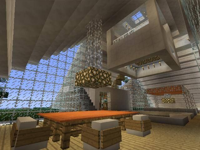 Minecraft Interior Design See More Gaming Xbox Xbox360 House Home Creative Mode Mojang Barn Modern Bungalow