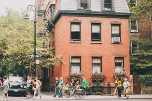 Favorite neighborhood: West Village. New Yorkers love the West Village for its mix of cozy shops and notable celebrity status.