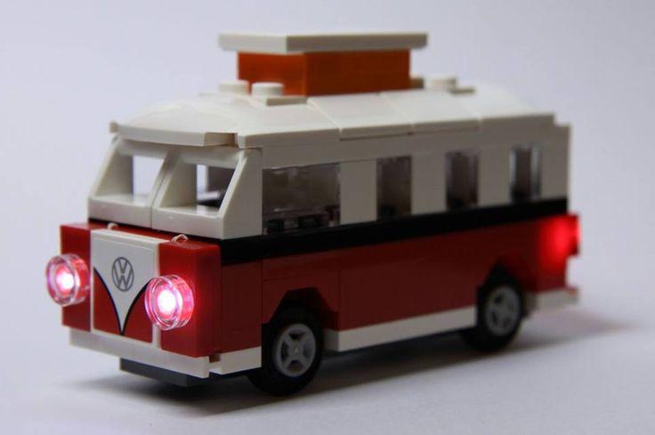 LEGO® Mini VW Camper Lighting Kit for Set # 40079