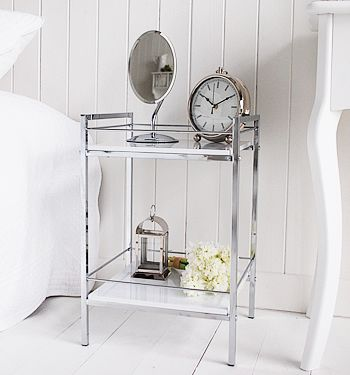 1000 Ideas About Small Bedside Tables On Pinterest