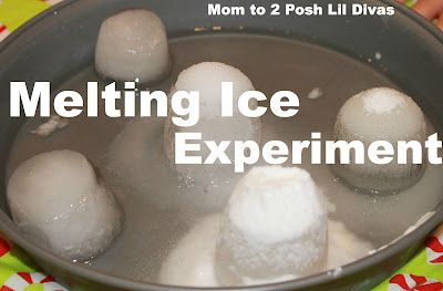 What Melts Ice the Fastest? A hands-on Science Experiment for kids using kitchen science. What substances would you use to melt the ice?