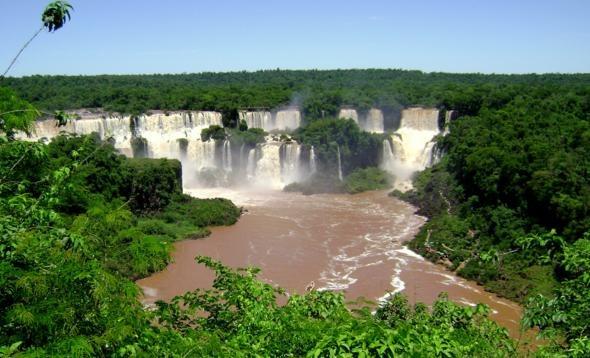 Iguazu Falls, Brazil-Argentina BorderPlaces To Visit, Brazilargentina Border, Favorite Places, Nature Pictures, Iguazu Fall, South America, Beautiful Places, Brazil Argentina Border, Vatican Cities