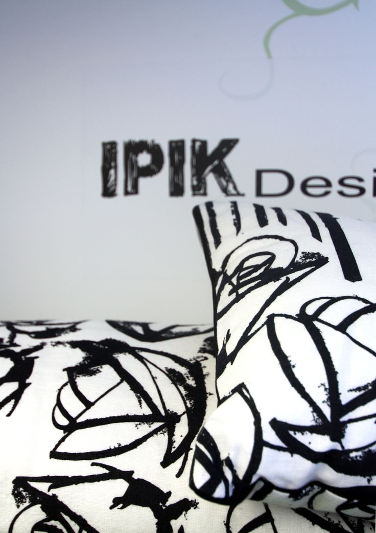 IPIK Design style - nice pillows